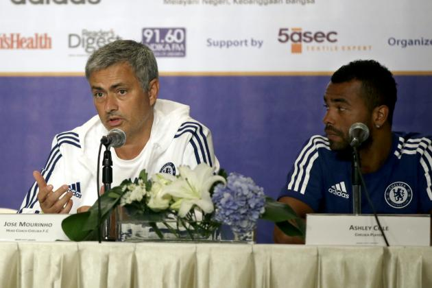 Chelsea Transfer News: Ashley Cole May Still Stay with Blues, Jose Mourinho Calm