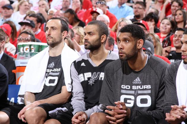 San Antonio Spurs Big 3 Ties Record for Most Playoff Wins by Any Trio