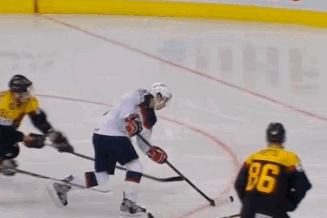 Watch: Gaudreau Scores Sick Goal at Worlds