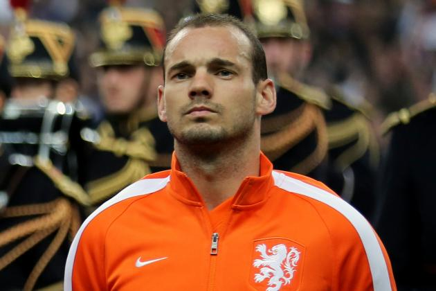Sneijder Has to Start for Van Gaal's Netherlands at World Cup