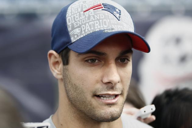 Jimmy Garoppolo Has Chance to Learn from Brady, Belichick