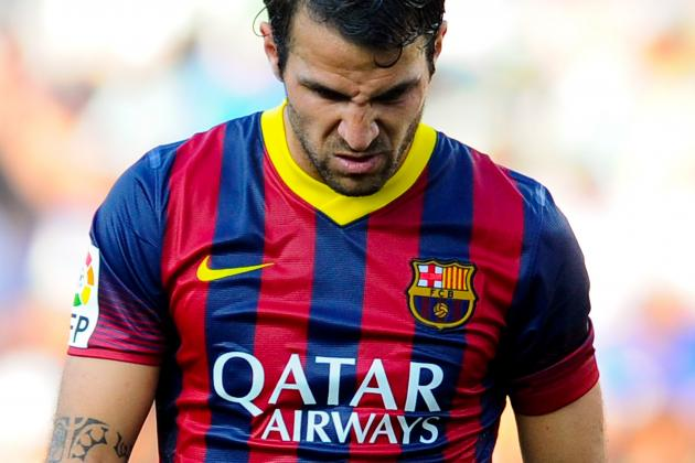 Manchester United Transfer News: Cesc Fabregas Price Named by Barcelona