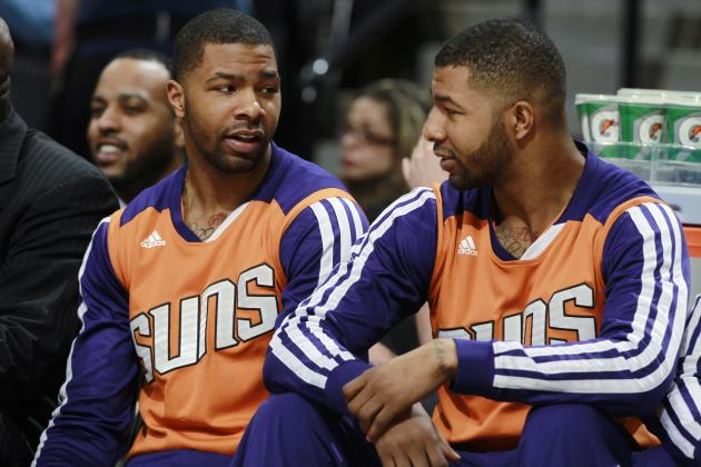 Suns Sending Morris Twins to Represent Organization in 2014 NBA Draft Lottery