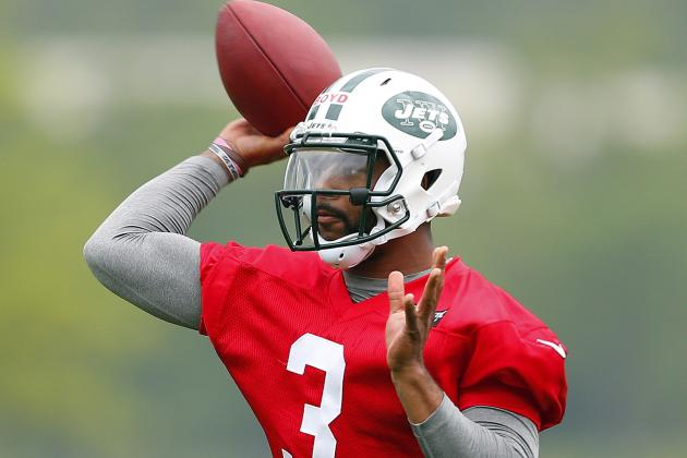 Y Jets Rookie QB Tajh Boyd Looking to Go over the Top