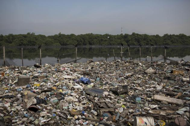 Rio de Janeiro's Olympic Sailing Site Is a Trash-Logged Sea of Nightmares