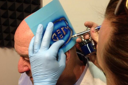 Thunder Bay Mayor Loses Bet, Gets Montreal Canadiens Tattoo on Head