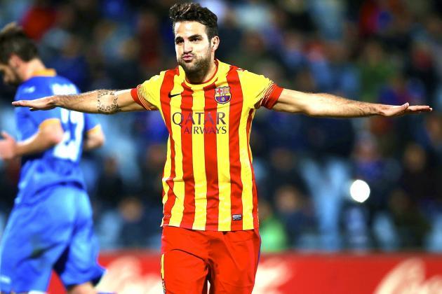 Premier League Clubs Set to Scrap for Barcelona's Cesc Fabregas