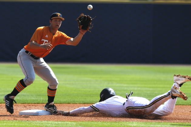 SEC Baseball Tournament 2014: Day 1 Scores, Updated Bracket and Day 2 Schedule