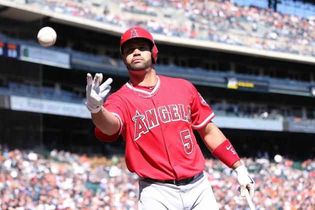 Angels' Albert Pujols Looking to Move Past Eddie Murray on All-Time Homers List