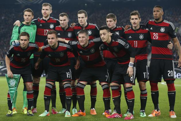Germany World Cup Roster 2014: Final 23-Man Squad and Starting 11 Projections