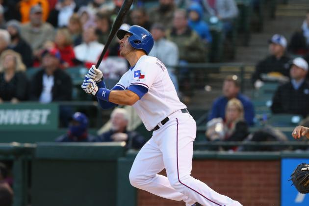 Rangers Demote J.P. Arencibia to Triple-a