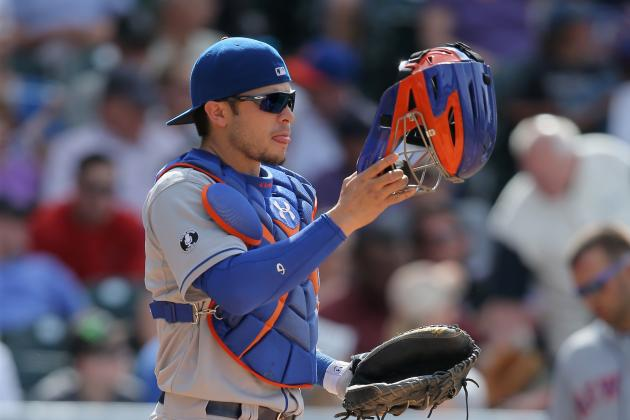 d'Arnaud Still Ailing from Concussion