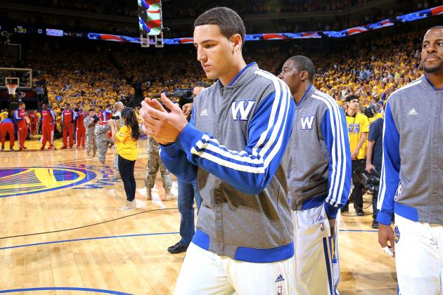 Report: Warriors Don't Want to Trade Klay Thompson in Kevin Love Deal