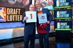 Cavs Win Draft Lottery for 2nd Straight Year