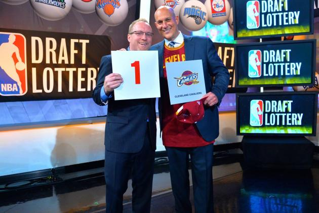 NBA Draft Order 2014: Post-Lottery Selection List and Pick Projections