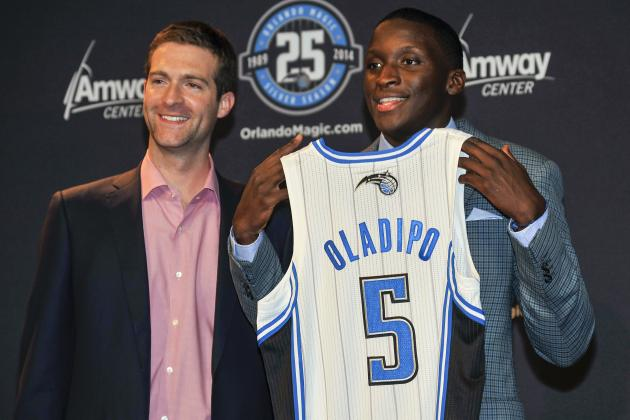 Magic GM 'Happy' to Get 4th and 12th Picks