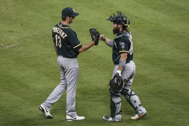 Pomeranz Wins 3rd Straight Start; A's Top Rays 3-0