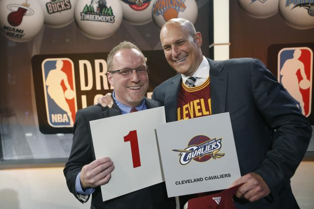 Cleveland Cavaliers Beat Slim Odds to Win NBA Draft Lottery 3 of Past 4 Years