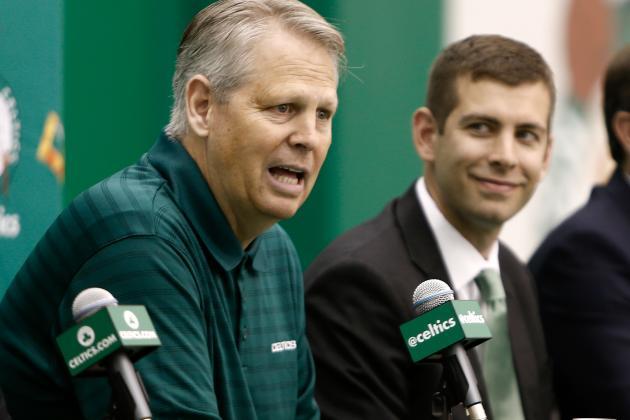Ainge: Celtics to Explore Trading No. 6 Pick