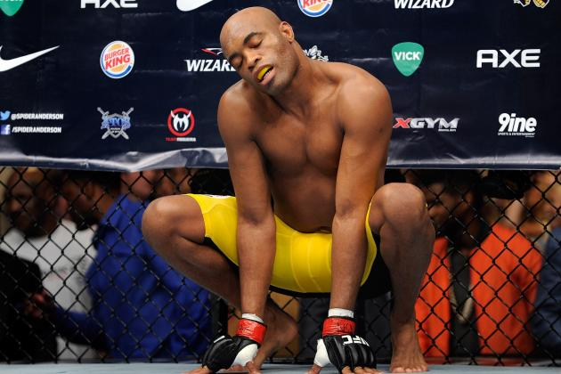 Anderson Silva Not Sure He'll 'Be in the Mood' to Finish 8 Fights on Contract
