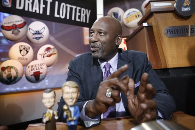 What Does Slip in NBA Draft Lottery Mean for Los Angeles Lakers' Rebuild?