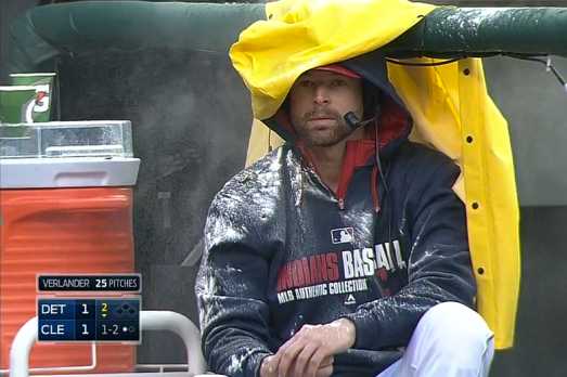 Cleveland Indians Mess with Corey Kluber During Live Interview