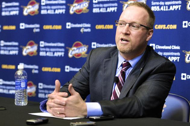 Report: Cleveland Cavaliers Not Against Trading No. 1 2014 NBA Draft Pick