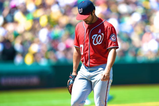 Washington Nationals Lose Another Player as Gio Gonzalez Sidelined by Shoulder