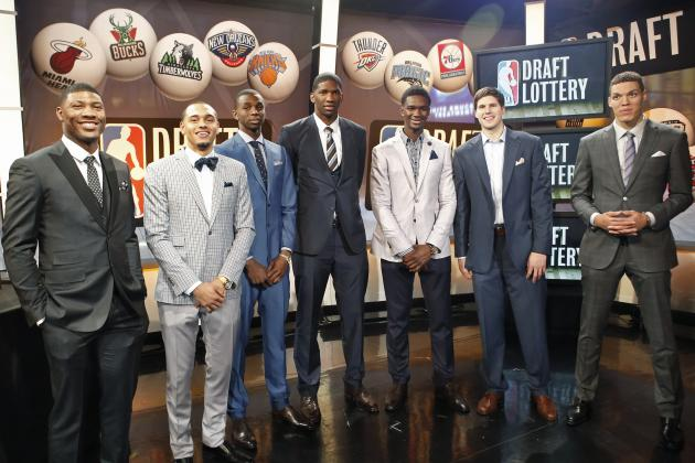2014 NBA Mock Draft: Updated First-Round Projections After Lottery