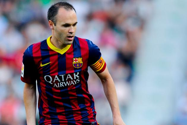 Arsenal Transfer News: Latest on Andres Iniesta, Serge Aurier and More