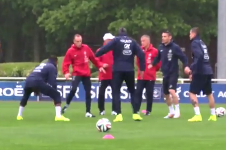 France World Cup Squad's 1st Training Session at Clairefontaine