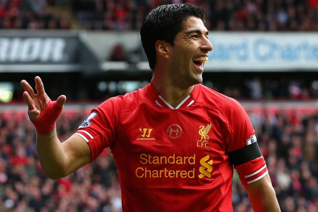 Luis Suarez Tops Cristiano Ronaldo, Lionel Messi in Bloomberg Power 50 2014 List