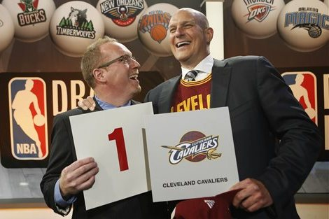 NBA Draft Order 2014: Post-Lottery Selection Results and 1st-Round Projections