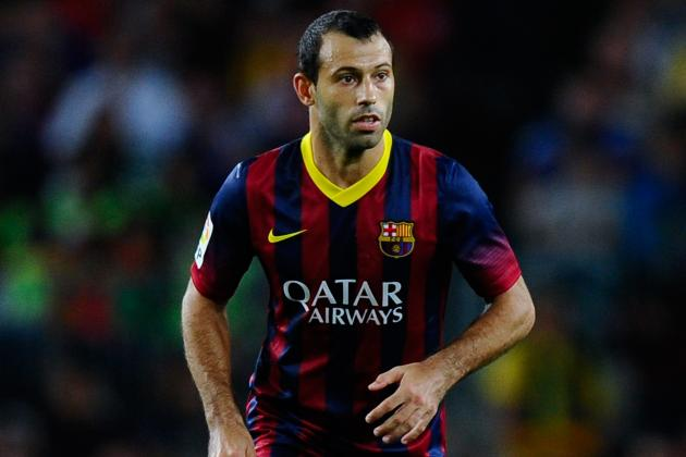 Liverpool Transfer News: Javier Mascherano Barcelona Blow Dealt by Luis Enrique
