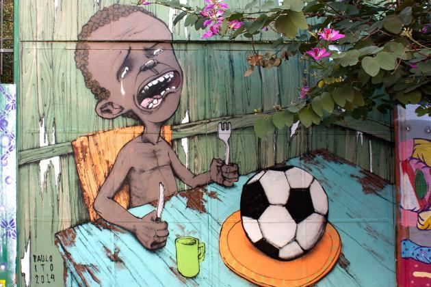 Brazilian Artist Paulo Ito's World Cup Mural Goes Viral