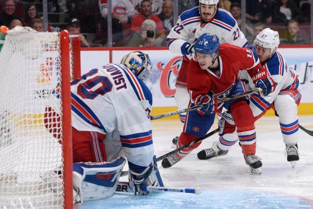 NHL Playoffs 2014: TV Schedule and Predictions for Canadiens vs. Rangers