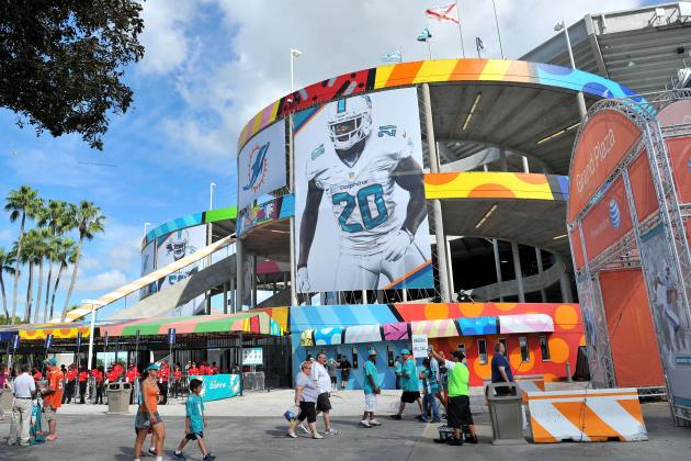 Miami Dolphins Have New Stadium Fix-Up Plan, Aim to Host '19...