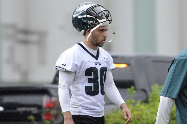 Eagles' Reynolds an Experienced Camper