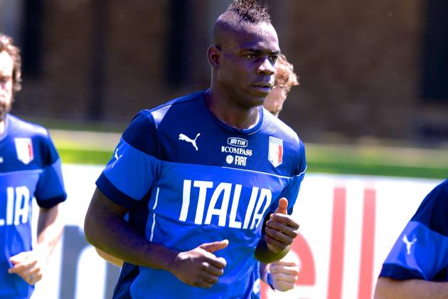 Mario Balotelli Racially Abused as Italy Prepare for England World Cup Showdown
