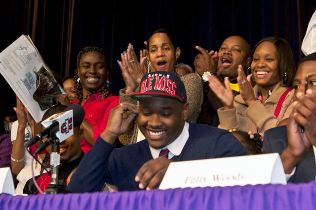 Ole Miss Signee Says Hugh Freeze Had 'Conversation' with Mark Richt over Top OL