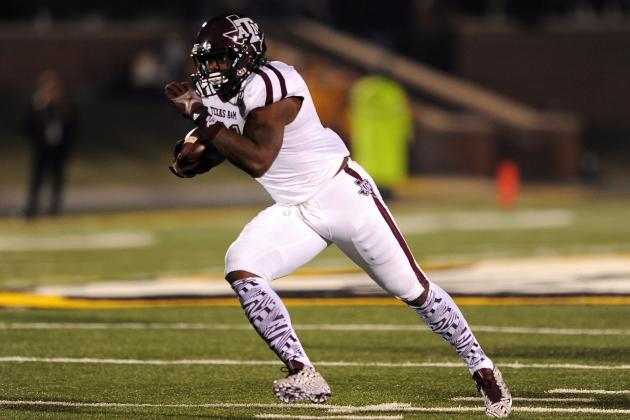 Texas A&M Football: RB Tra Carson Is One of Most Underrated SEC Players