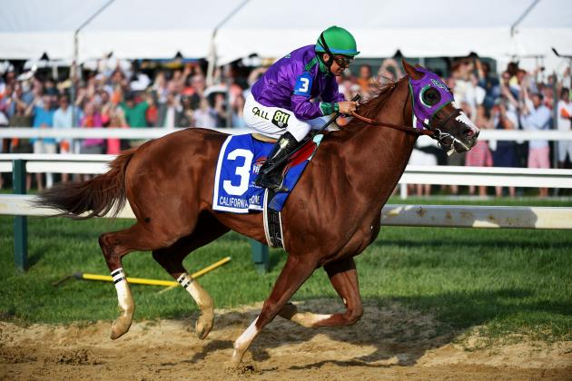 Triple Crown 2014: Latest Odds for California Chrome Heading into Belmont Stakes