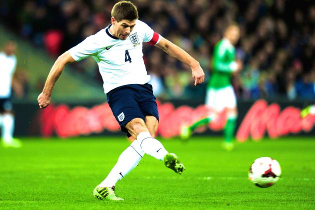 Liverpool's Steven Gerrard Should Play on for England Beyond World Cup