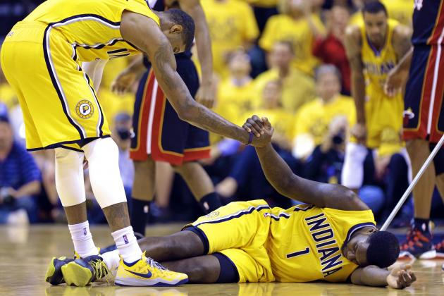 Lance Stephenson Fined $5,000 for Violation of NBA's Anti-Flopping Rules