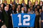 Super Bowl Champion Seahawks Hit the White House