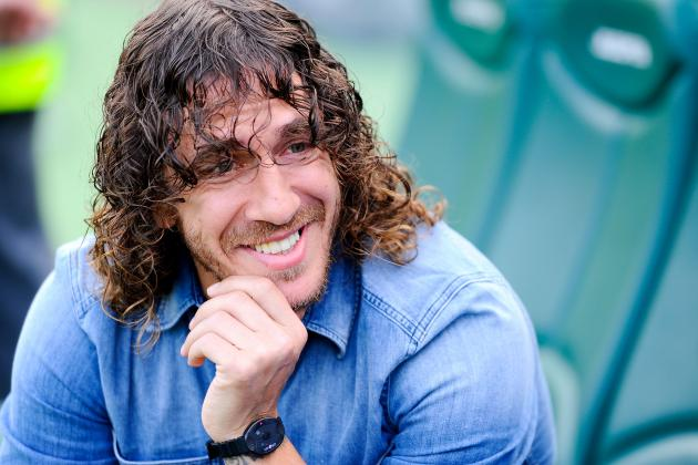 Barcelona's Carles Puyol Retires in 2nd Place on Club's All-Time Matches List