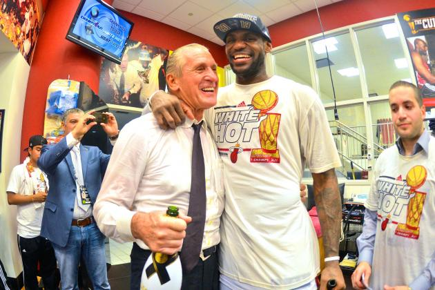 Miami Heat President Pat Riley Files for '3-Peat' Trademark
