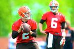 Browns' GM After OTAs: Hoyer Much Better Than Manziel