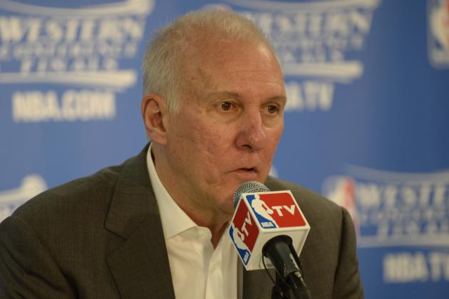 Gregg Popovich: Players Really Get 'Screwed Sometimes' Playing for Me
