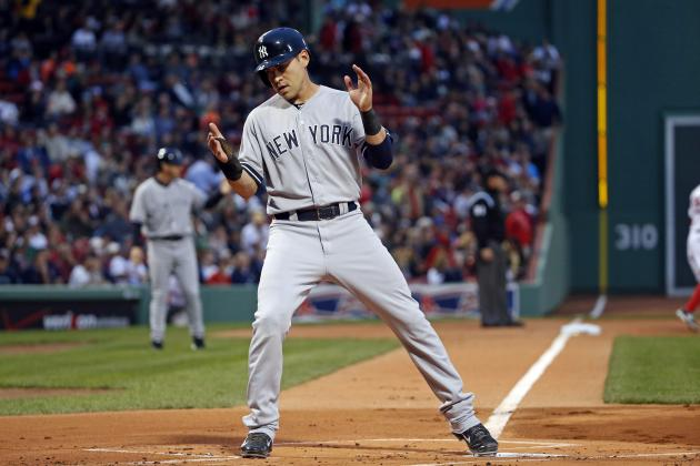 Yankees' Jacoby Ellsbury Nearing 500 Career Runs Scored